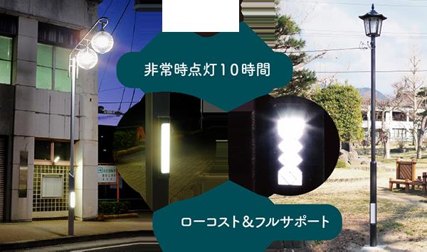 サポートライト設置例